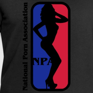 NBA? Ingen NPA - National Association Porn Porn Star T-shirts - Herresweatshirt fra Stanley og Stella