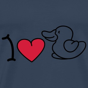 I love ducks Top - Maglietta Premium da uomo
