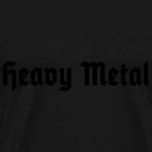 Heavy Metal, Men's Tank Top / Herren Muskelshirt - Men's Premium T-Shirt