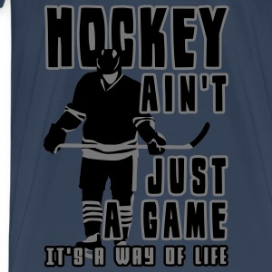 'Hockey Ain't Just A Game' Débardeur fines bretelles Femme - T-shirt Premium Homme