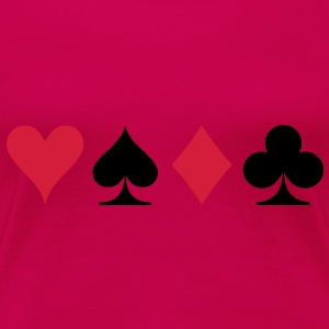 poker signs Tops - Frauen Premium T-Shirt