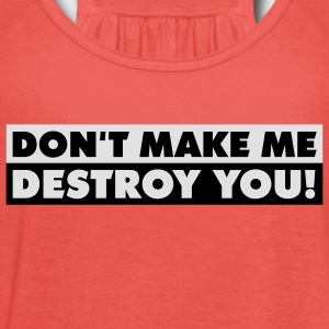 destroy_you_quotation_2c T-shirts - Tanktopp dam från Bella