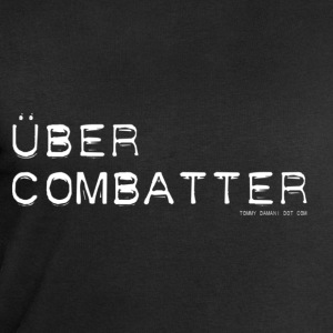 Über Combatter - White Font Tops - Men's Sweatshirt by Stanley & Stella