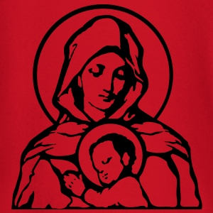 Mary and Jesus T-Shirts - Baby Long Sleeve T-Shirt
