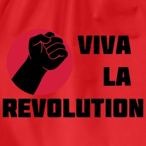 Viva la Revolution thumb Tops - Drawstring Bag