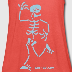 Dancing Skeleton T-Shirts - Women's Tank Top by Bella
