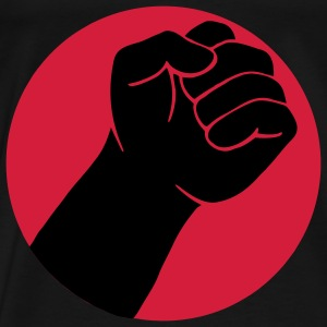 Fist, fist in greeting Resistance Tops - Men's Premium T-Shirt