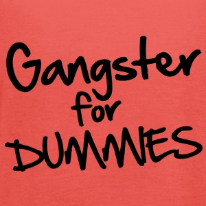 Gangster for Dummies Koszulki - Tank top damski Bella