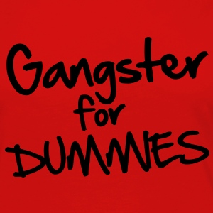 Gangster for Dummies Camisetas - Camiseta de manga larga premium mujer