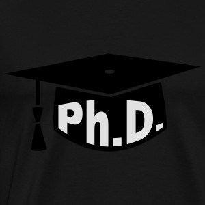Graduation Party - PhD - Gift Tops - Men's Premium T-Shirt
