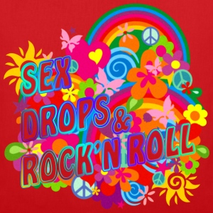 SEX DROPS & ROCK'N ROLL | Frauen Tank Top - Stoffbeutel