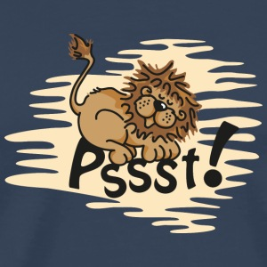 Little sleeping Lion Tops - Mannen Premium T-shirt