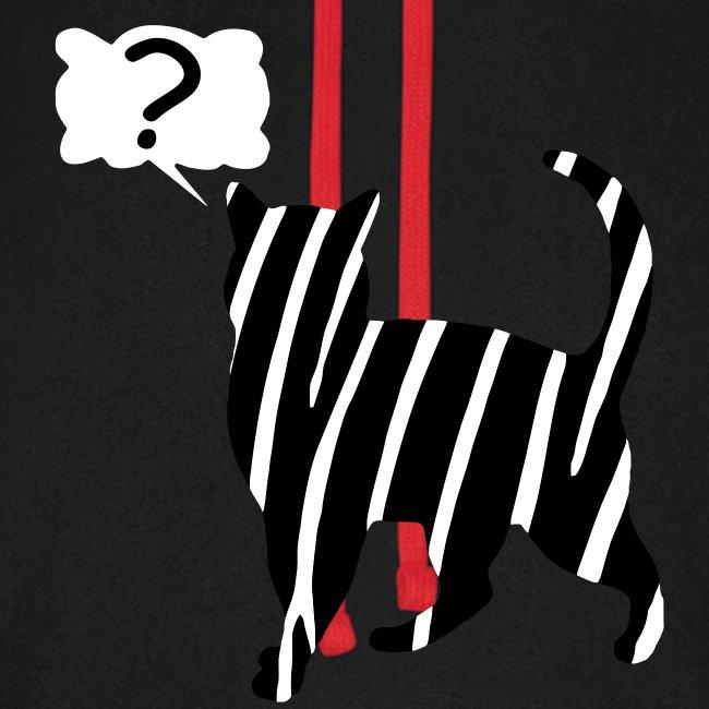 Zebra kissa myyttinen eläin, lumoa hyvin kyseenalainen T-paidat