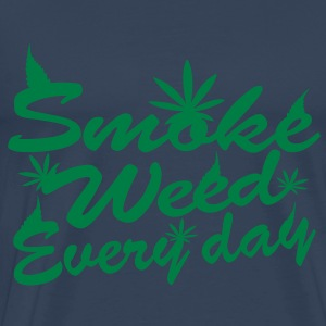 smoke weed every day Tops - Men's Premium T-Shirt