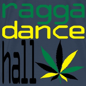 ragga dance hall  Topper - Premium T-skjorte for menn