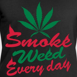 smoke weed every day Tops - Men's Sweatshirt by Stanley & Stella