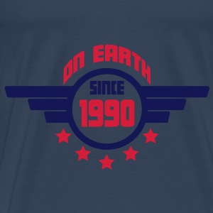 1990_on_earth Toppar - Premium-T-shirt herr