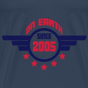 2005_on_earth Toppe - Herre premium T-shirt