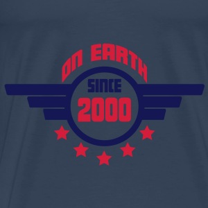 2000 on earth - Geburtstag -Tops - Männer Premium T-Shirt
