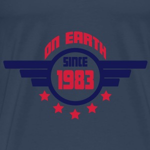1983_on_earth Toppe - Herre premium T-shirt