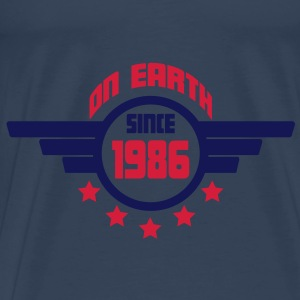 1986_on_earth Top - Maglietta Premium da uomo