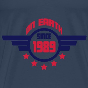 1989_on_earth Toppar - Premium-T-shirt herr
