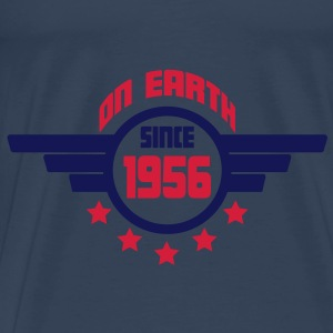 1956_on_earth Topper - Premium T-skjorte for menn
