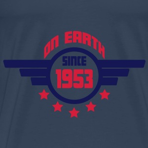 1953_on_earth Top - Maglietta Premium da uomo