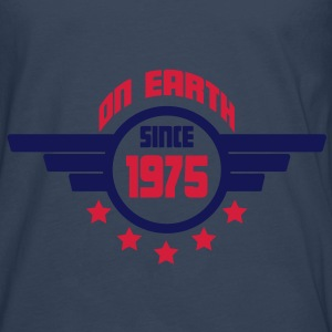 1975_on_earth Tops - Camiseta de manga larga premium hombre