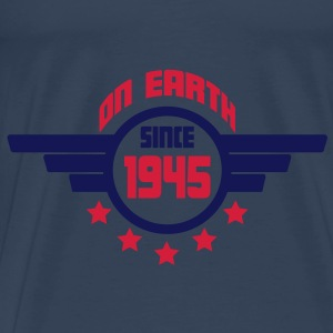 1945_on_earth Toppe - Herre premium T-shirt