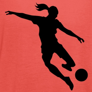 Soccer female - Women's Tank Top by Bella