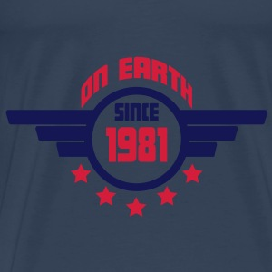1981_on_earth Toppar - Premium-T-shirt herr