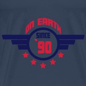 90_on_earth Toppar - Premium-T-shirt herr