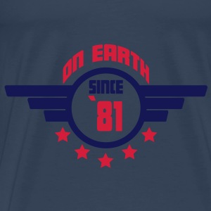 81_on_earth Toppe - Herre premium T-shirt