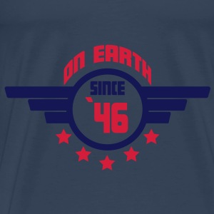 46_on_earth Top - Maglietta Premium da uomo