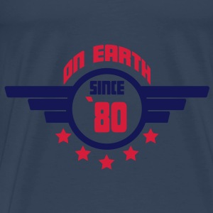 80_on_earth Top - Maglietta Premium da uomo