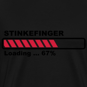 The Finger is loading - progress bar! Tops - Men's Premium T-Shirt