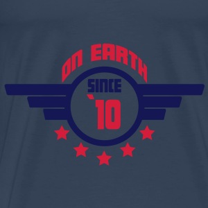 10_on_earth Toppar - Premium-T-shirt herr