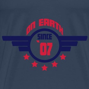 07_on_earth Toppar - Premium-T-shirt herr