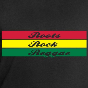 roots rock reggae Tops - Men's Sweatshirt by Stanley & Stella