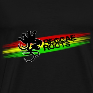 reggae roots Tops - Men's Premium T-Shirt