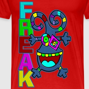 HAPPY FREAK - Monster | Frauen Tank Top - Männer Premium T-Shirt