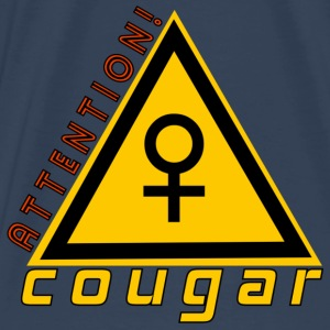 attention cougar Débardeurs - T-shirt Premium Homme