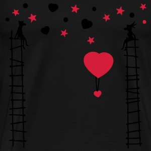 love of scale (2c) Tops - Men's Premium T-Shirt