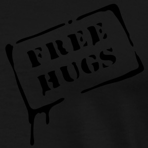 free hugs, love,  Tops - Männer Premium T-Shirt