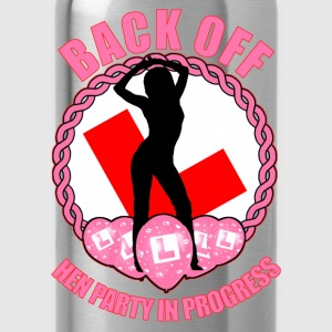 Hen Party: Back Off Tops - Water Bottle