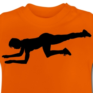 fitness workout sport stretching Kids' Shirts - Baby T-Shirt