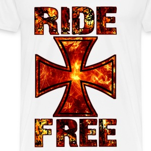 Ride Free 001 Tops - Men's Premium T-Shirt