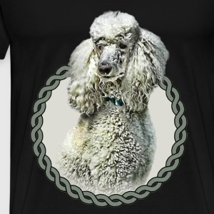 Poodle 001 Tops - Men's Premium T-Shirt