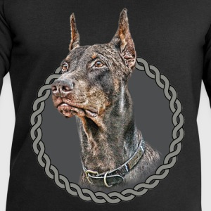 Doberman Pinscher 001 Tops - Men's Sweatshirt by Stanley & Stella